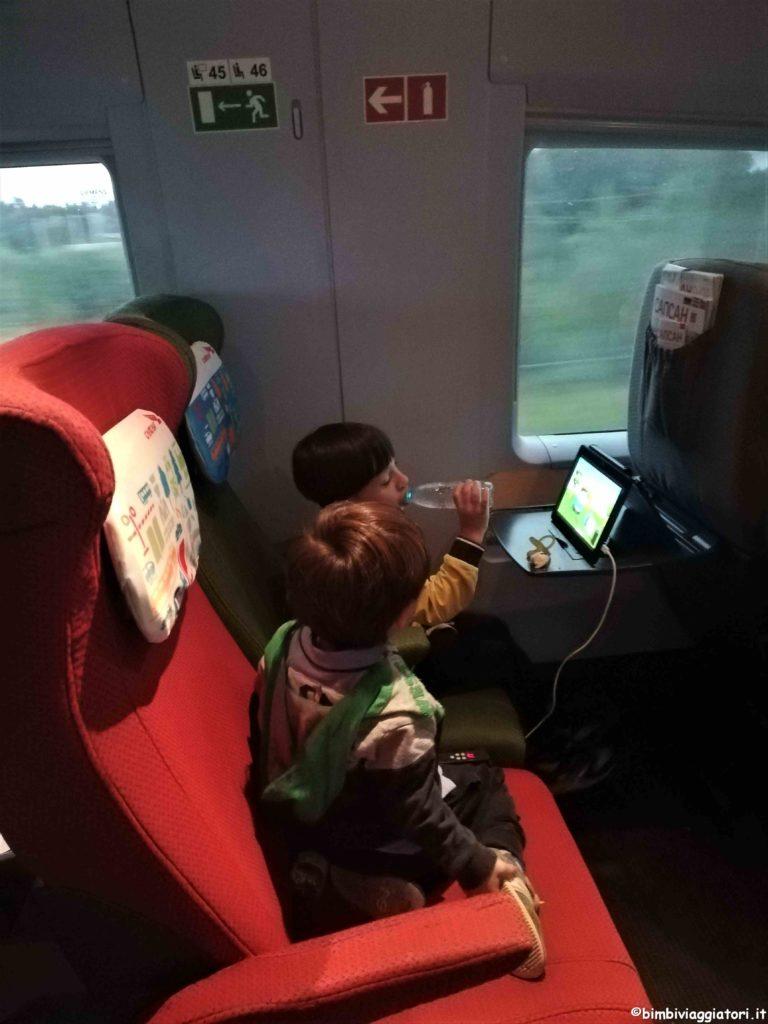 Viaggio in treno con i bambini