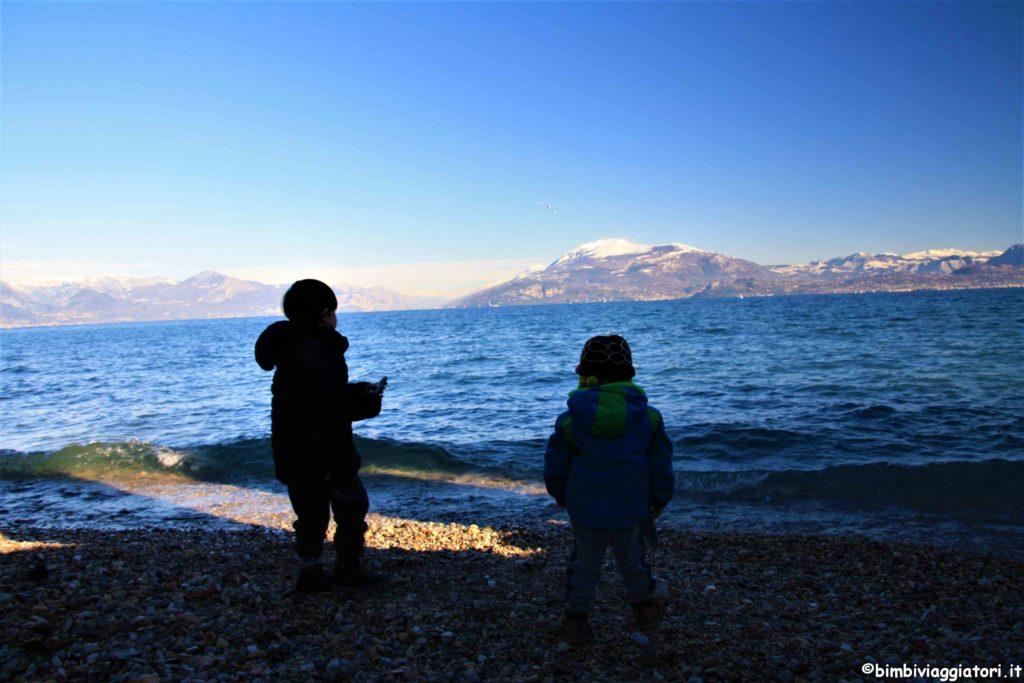 Spiagge di Sirmione con i bambini
