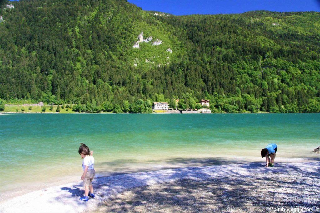 Giochi Lago di Molveno con bambini