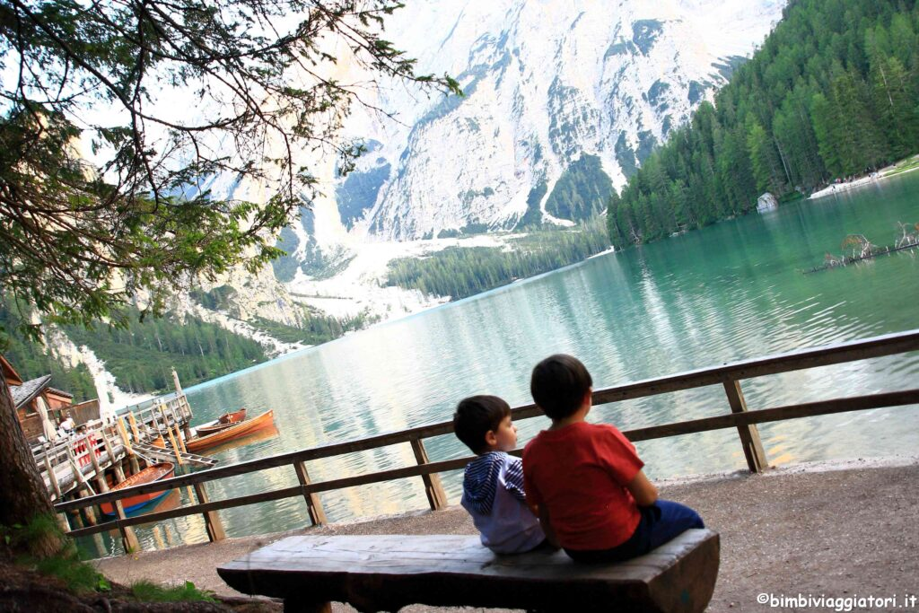 Cosa fare al Lago di Braies con i bambini