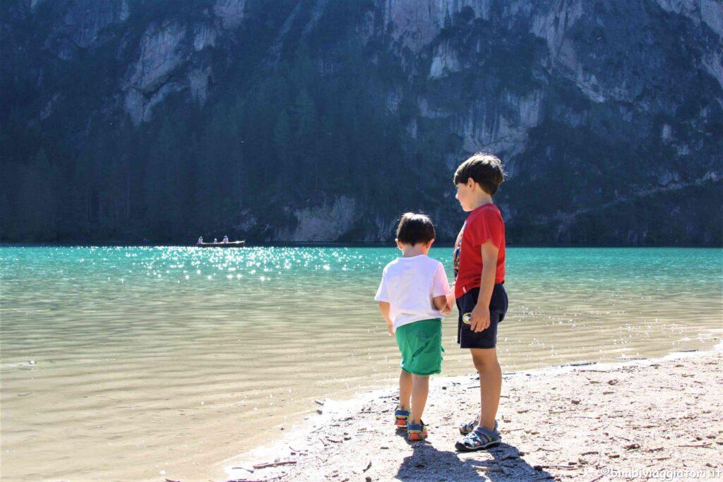 Lago di Braies con i bambini