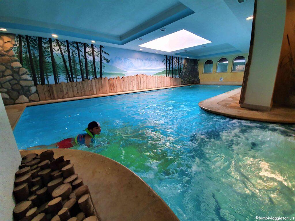Piscina hotel Val di Sole
