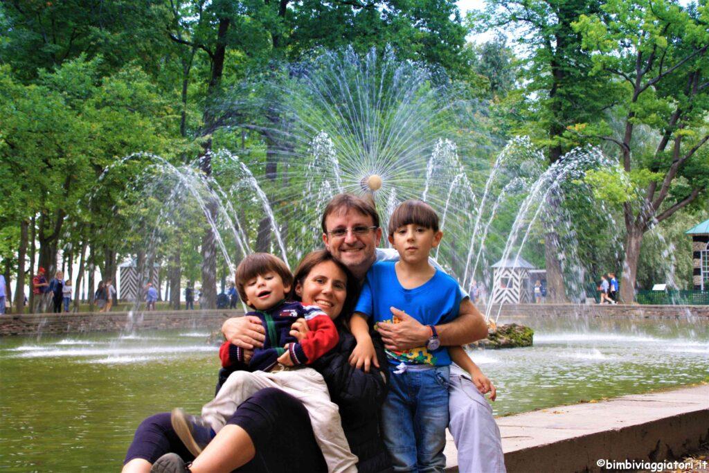 Fontana Palazzo Peterhof