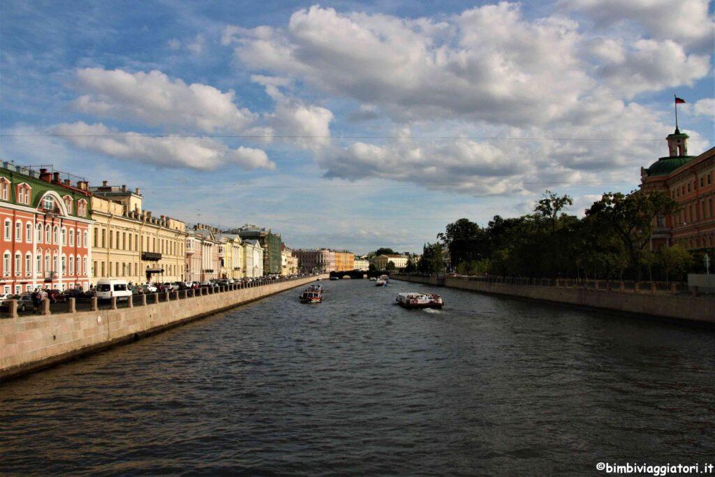 Canali a San Pietroburgo
