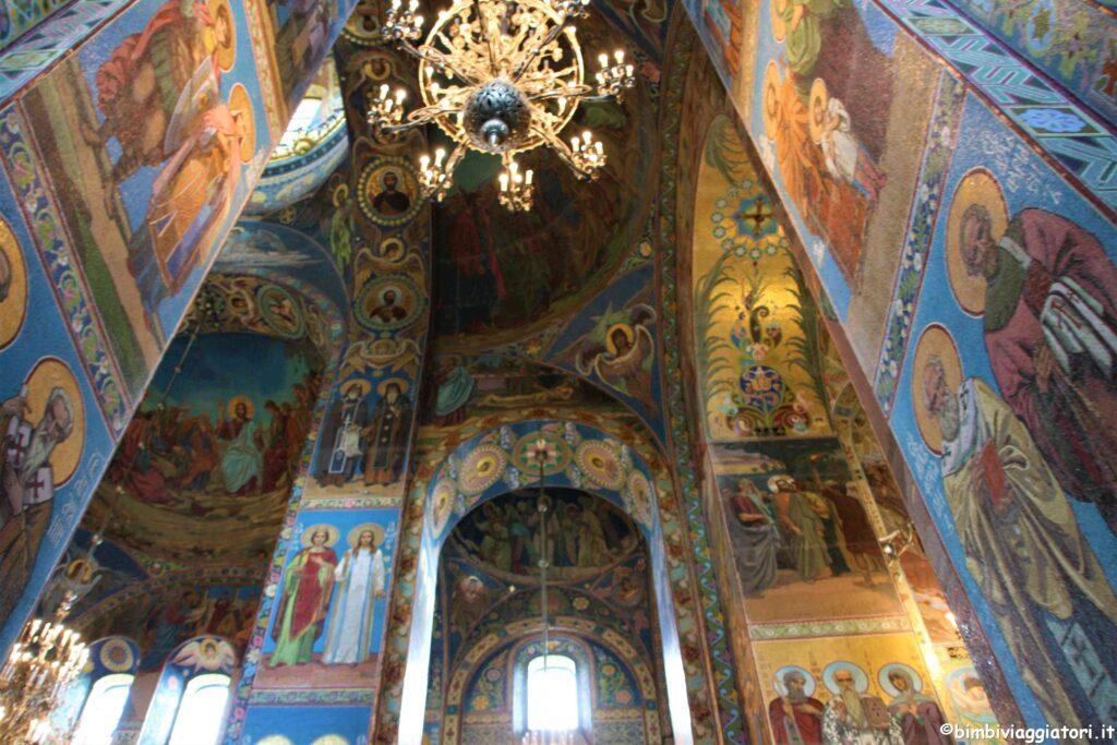 Interno Chiesa sul Sangue Versato