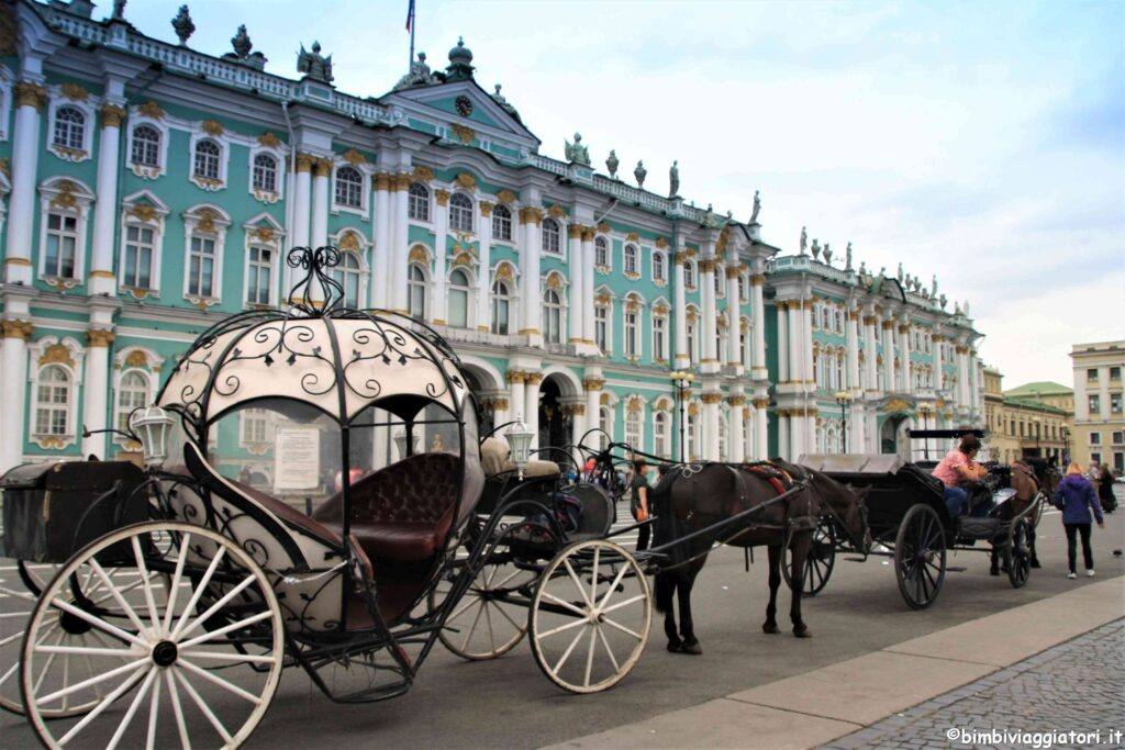 Palazzo d'Inverno a San Pietroburgo