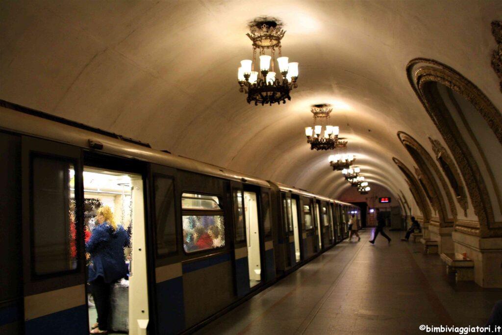 Metropolitana a Mosca