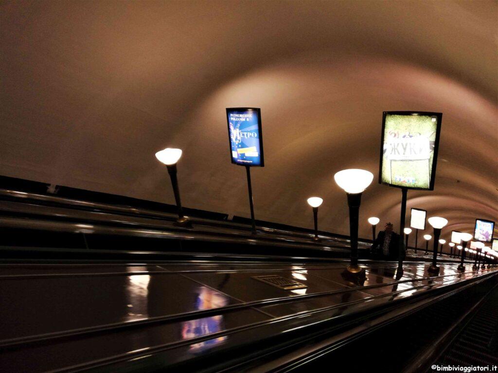 Scala mobile San Pietroburgo