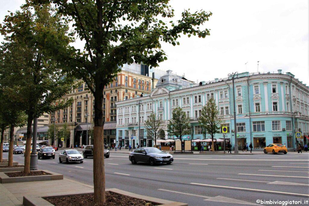 Strade a Mosca