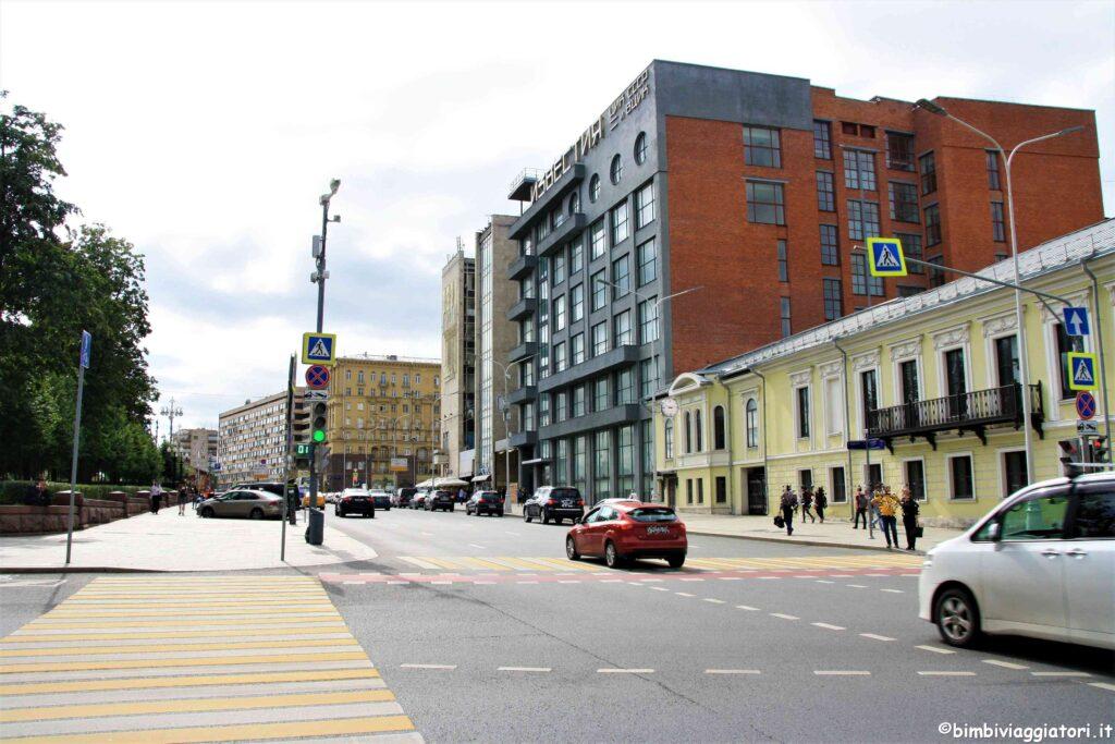 Traffico a Mosca