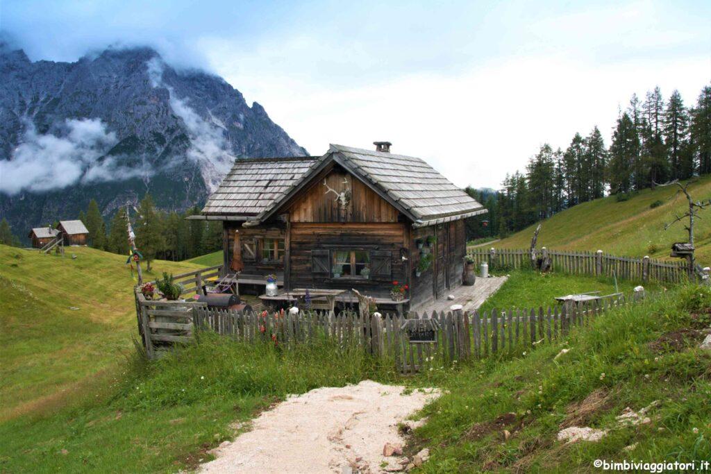 Casetta in legno in Val Pusteria