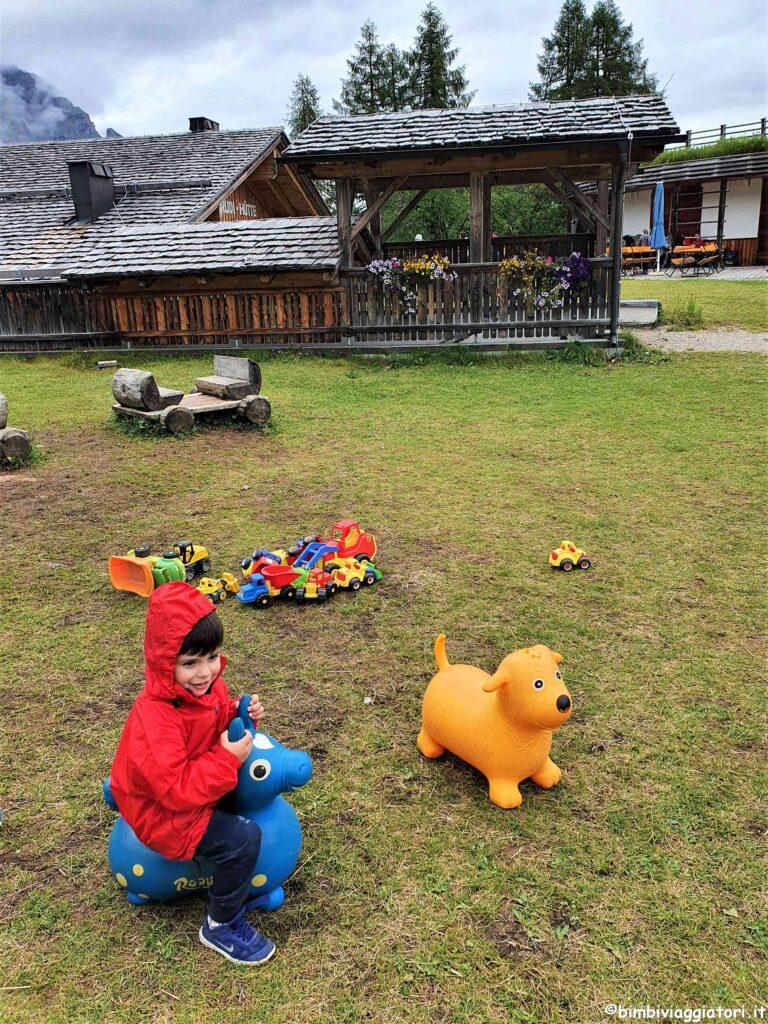 Giochi al rifugio Rudi-Hutte
