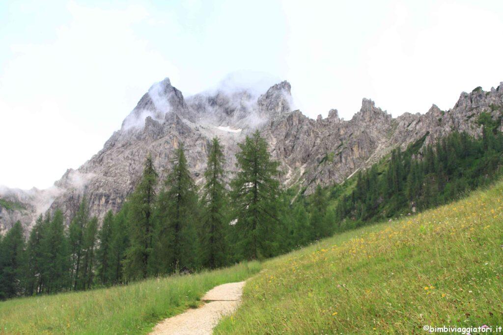 Paesaggi al Croda Rossa in Val Pusteria