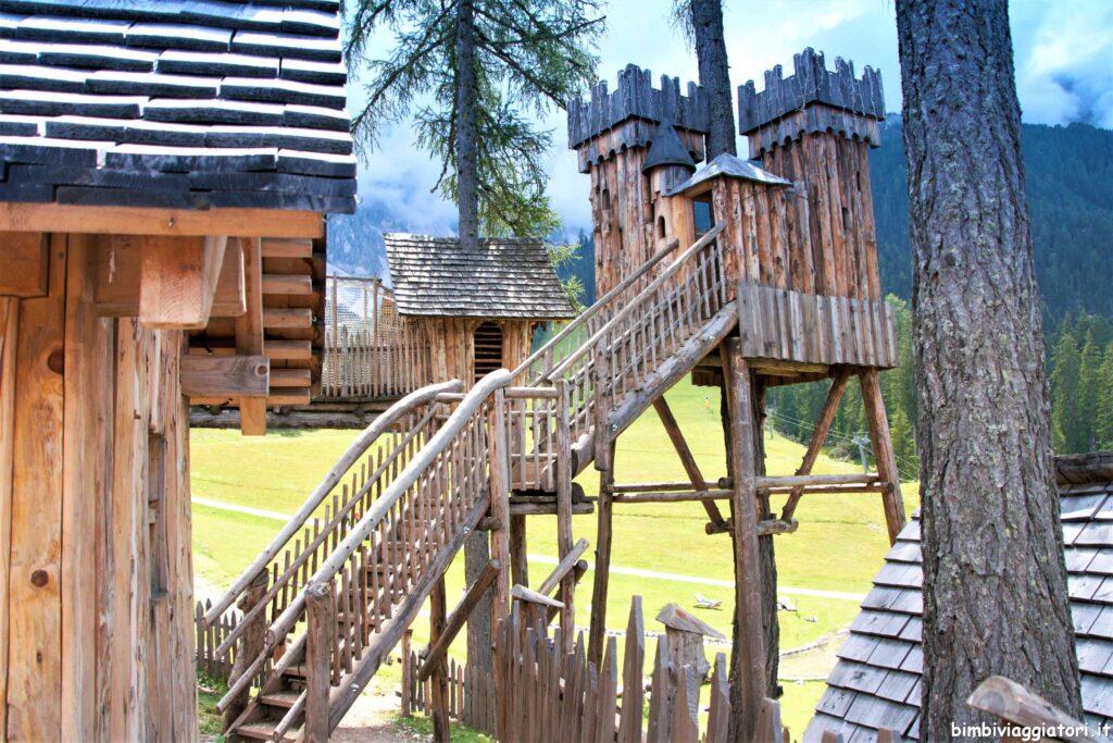 Castello villaggio gnomi