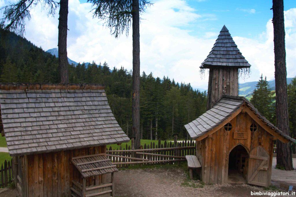 Chiesa villaggio gnomi