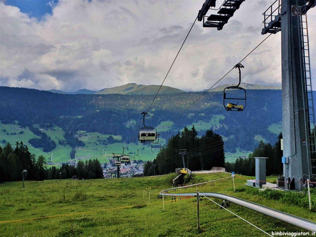 Come raggiungere il Monte Baranci