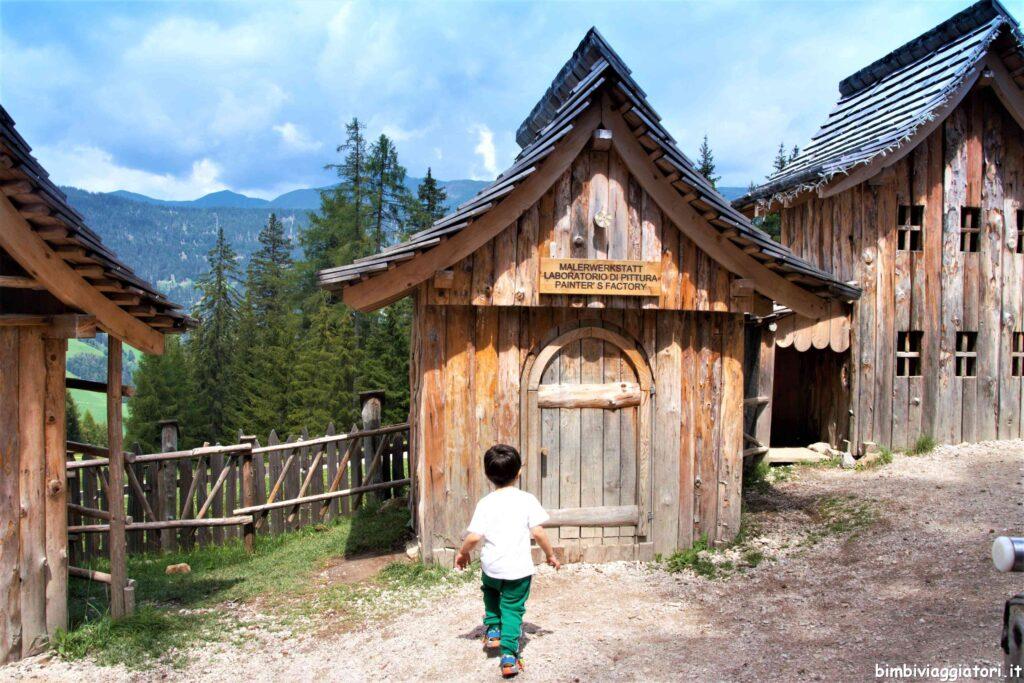 Monte Baranci con bambini