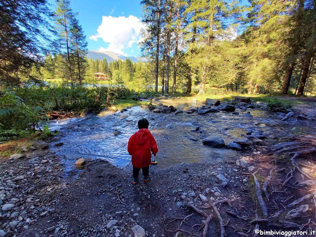 Lago dei Caprioli con i bambini