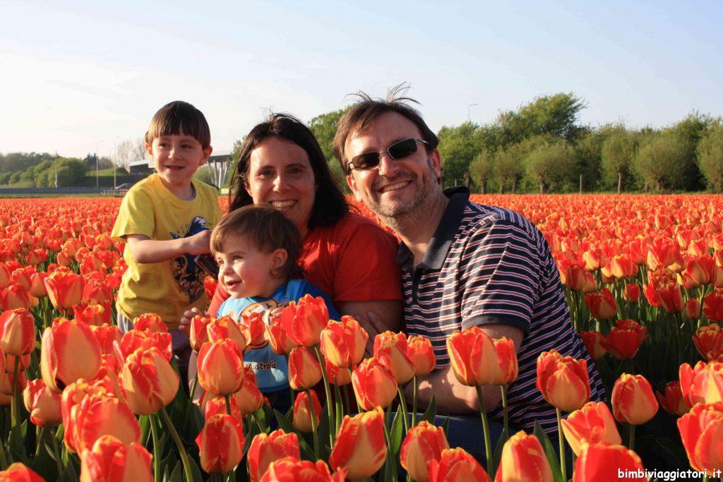 Viaggiare hygge Campo Tulipani Olanda