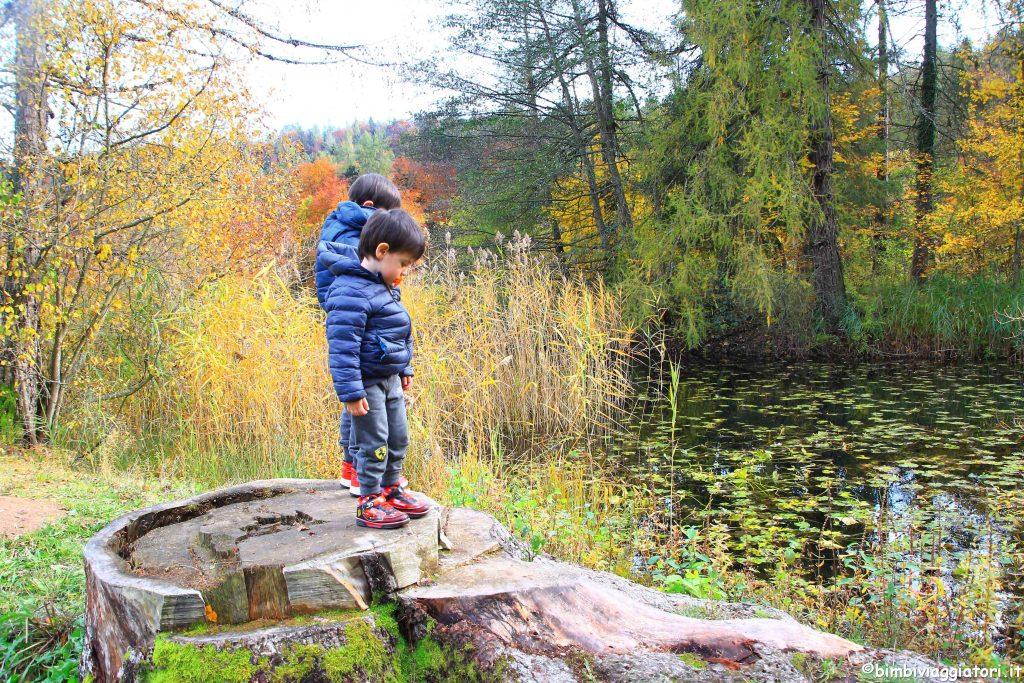Lago di Cei con i bambini