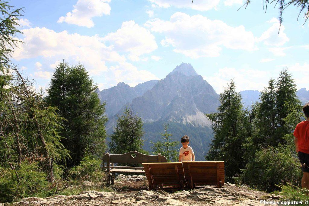 Panorama sul Monte Elmo