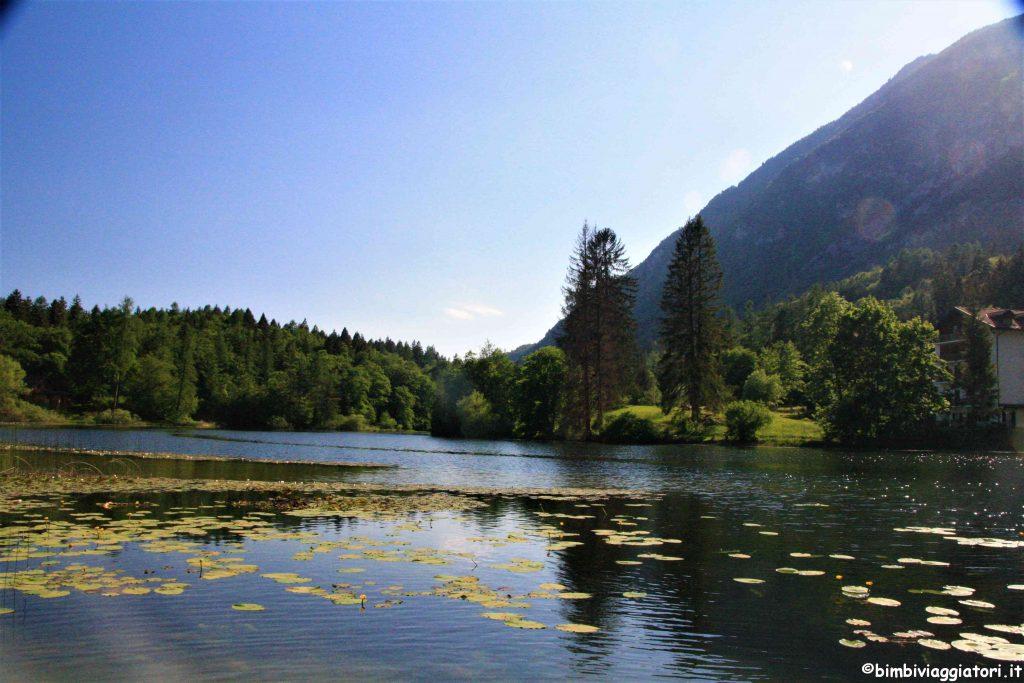 Passeggiata in primavera in Trentino