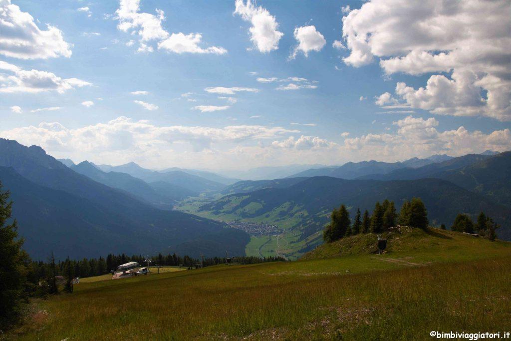 Vista panoramica dal Monte Elmo