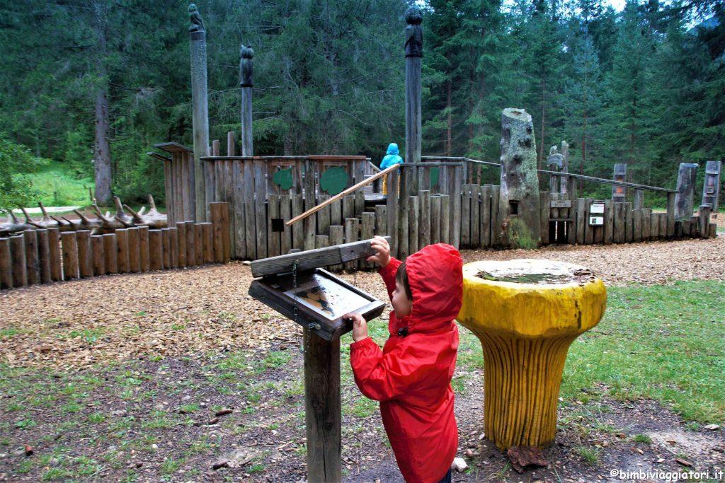 Pannelli informativi Mondo Magico Foresta